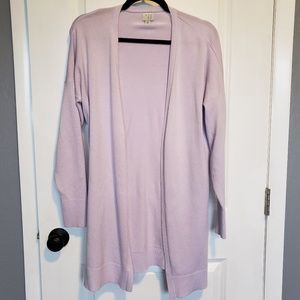 A New Day • Lilac Long Cardigan